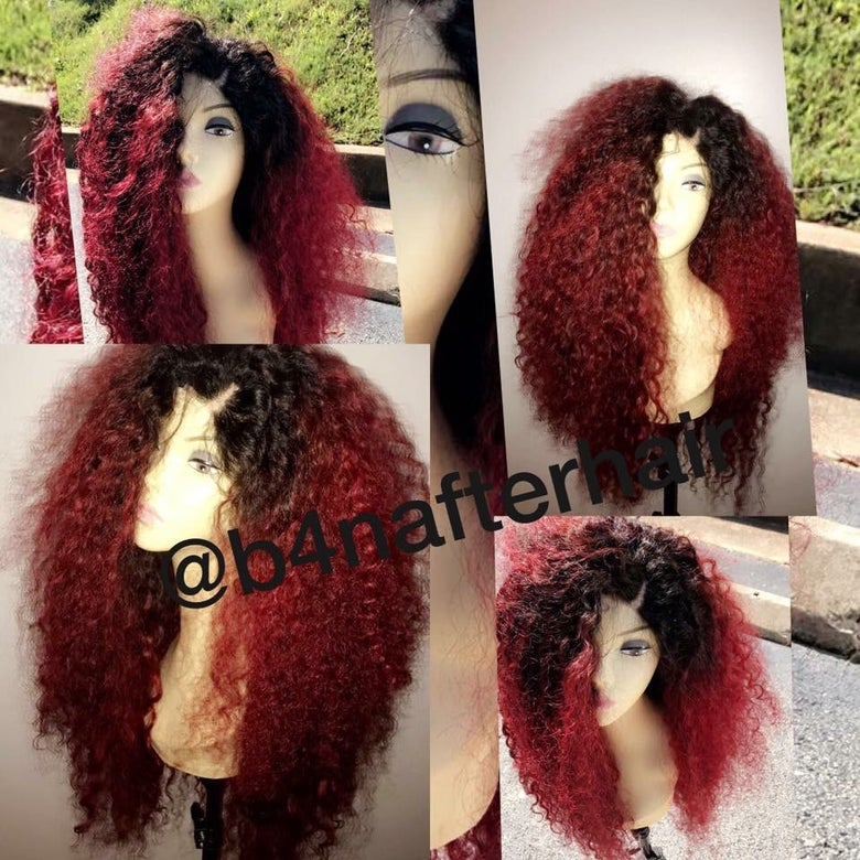 Image of Curly wig unit