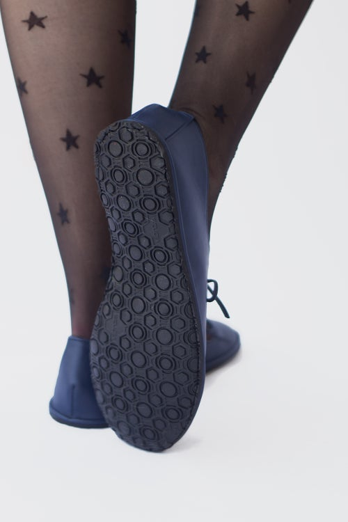 Image of Passion ballet flats - in Navy blue