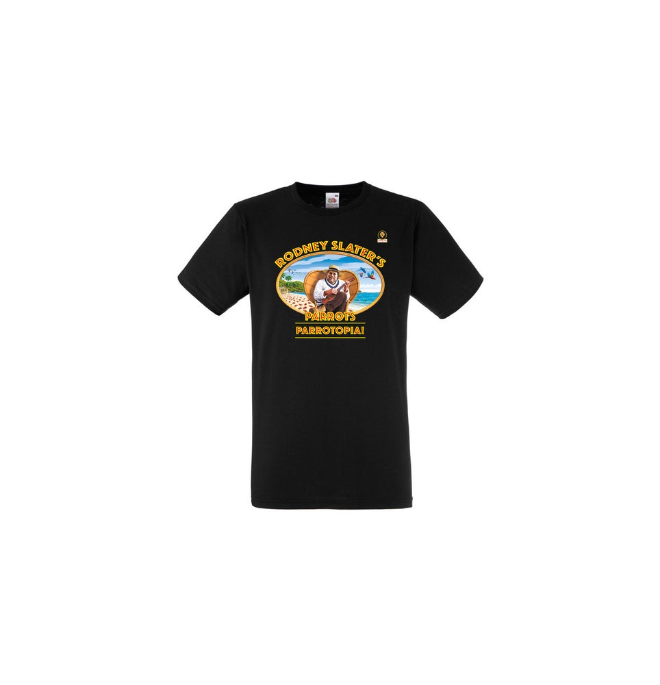 Image of Parrotopia! Tee (incl delivery)