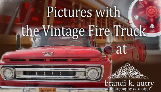 Image of Vintage Fire Truck Quick Takes at Finch - Lee House