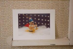 Image of Skifahrer, print - The Igloo Collection # 9