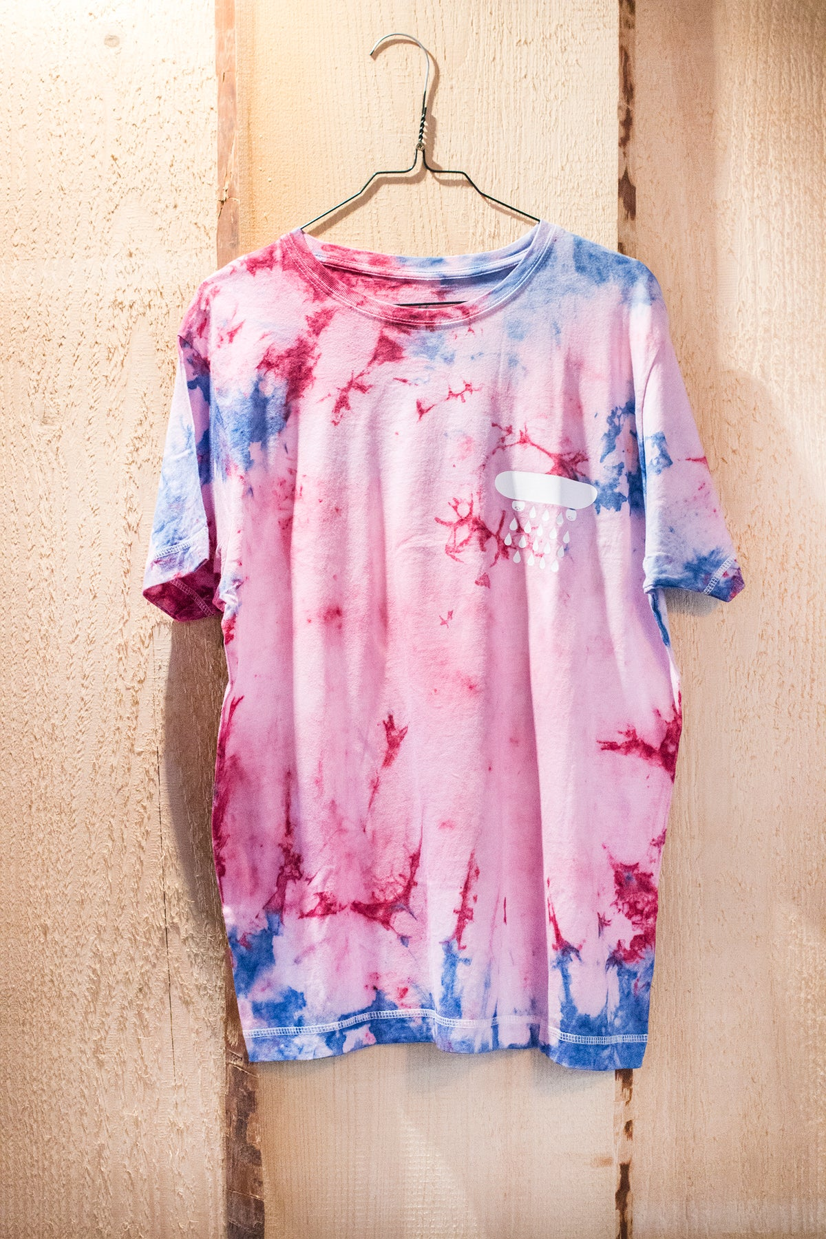 Image of RED/ BLUE/ PINK - BATIK SHIRT