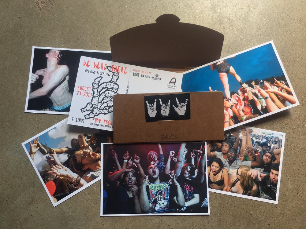 Image of We Were There pit postcard box set