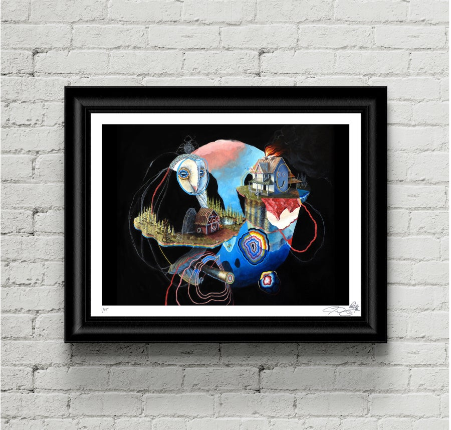 """Image of """"Gone for good, but ill be back"""" limited edition print"""