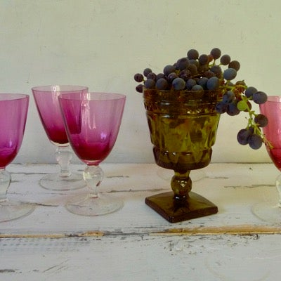 Image of Pink Cocktail Glasses