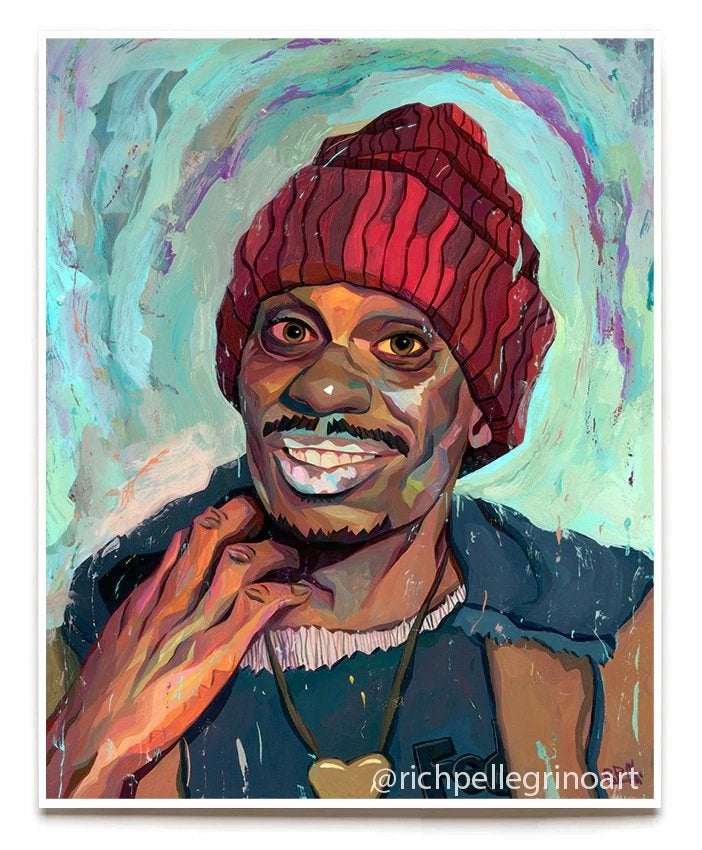 Image of Tyrone Biggums Chappelle 2nd Editon 16x20 Print