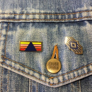 Image of Harlow Pin Badge