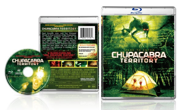 Image of Chupacabra Territory Blu-ray (With Exclusive Movie Still signed by Lead Actress Sarah Nicklin)