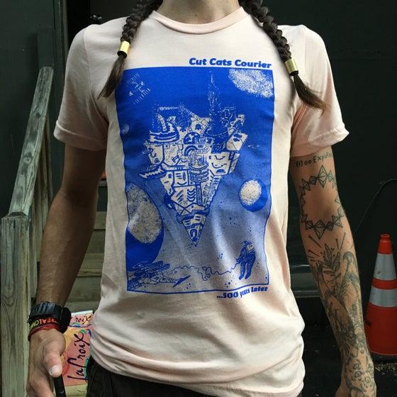 "Image of ""Space Base"" 5 year anniversary shirt."