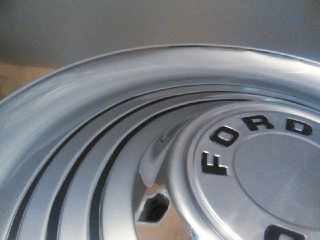 Image of 66 Bronco Hubcap Decals
