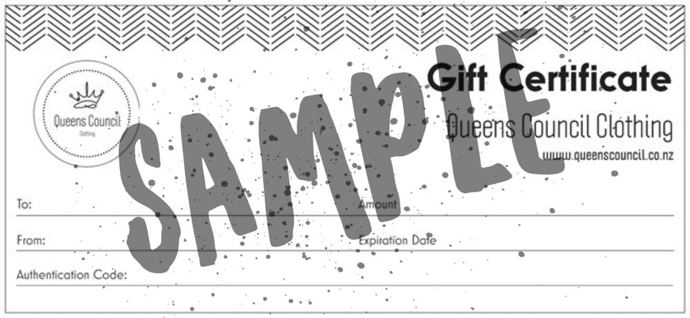 Image of Gift Voucher - from $20.00
