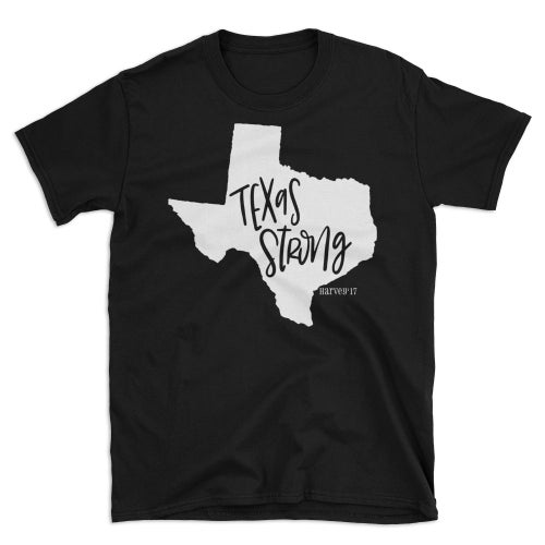 Image of TEXAS STRONG HARVEY RELIEF T-SHIRT