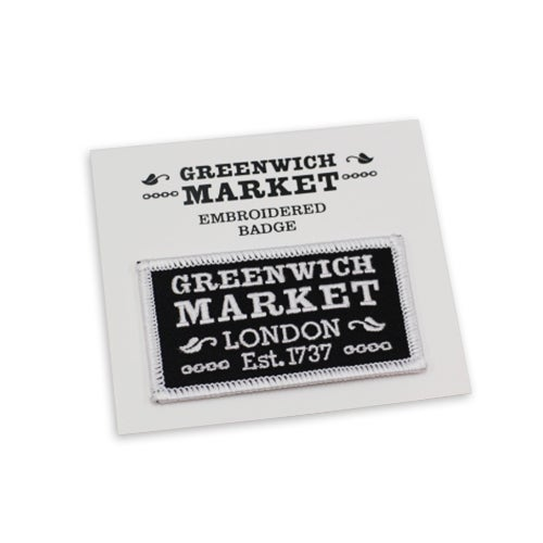 Image of Greenwich Market Embroidered Badge