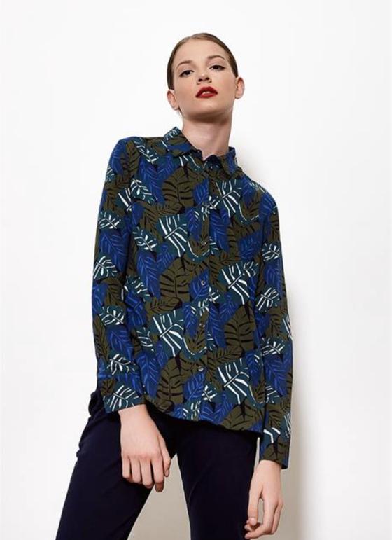 Image of chemise RAPHAELLE végétal 109€ -50%