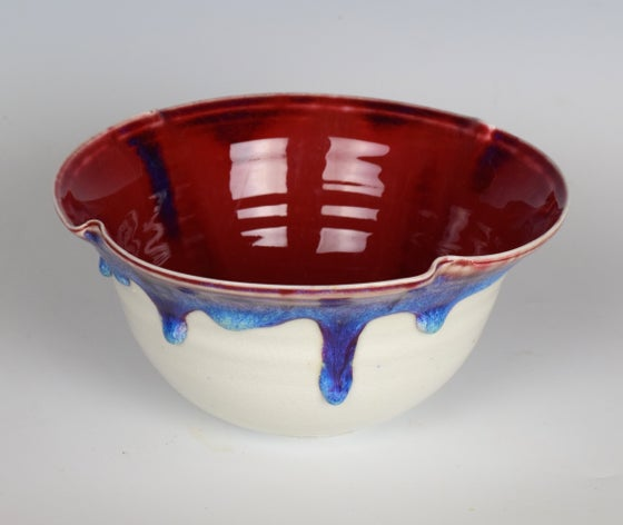 Image of Copper Red Bowl #4