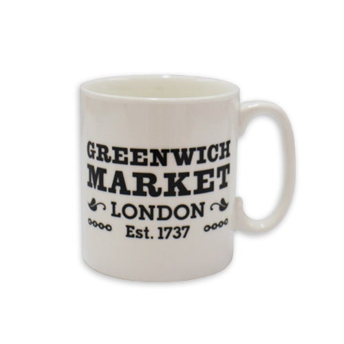 Image of Greenwich Market Mug - Black and White