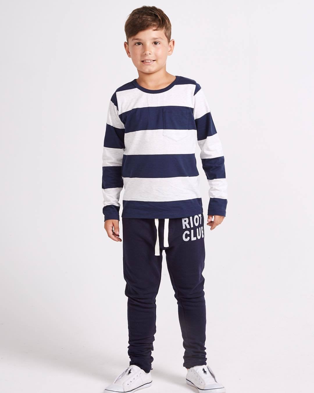 Image of Boys striped top