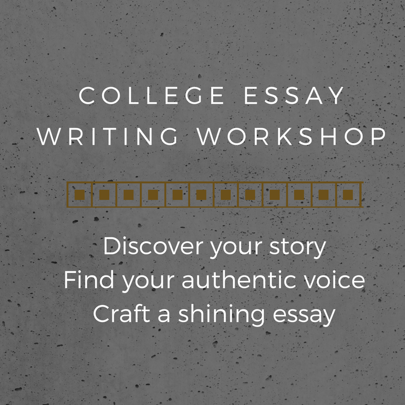 Image of College Essay Writing Workshop