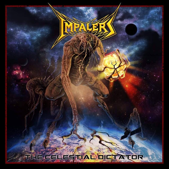 Image of Impalers 'The Celestial Dictator' Digipak Album.