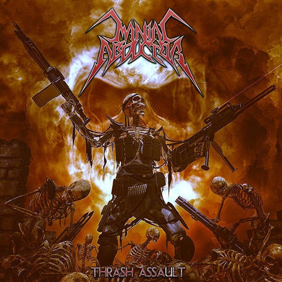 Image of Maniac Abductor 'Thrash Assault' EP Digipak