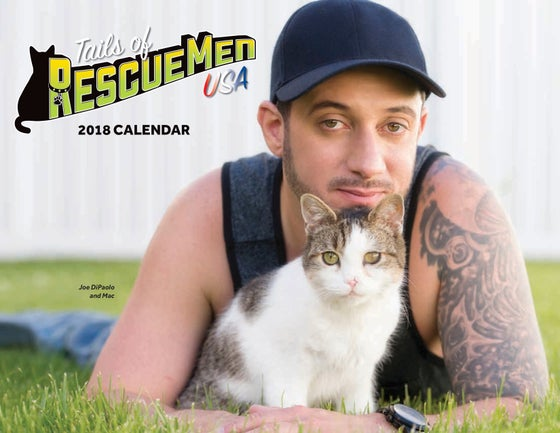 Image of Tails of RescueMen 2018 Charity Calendar