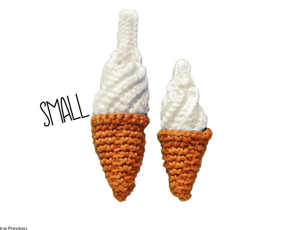 Image of SMALL soft serve // pin