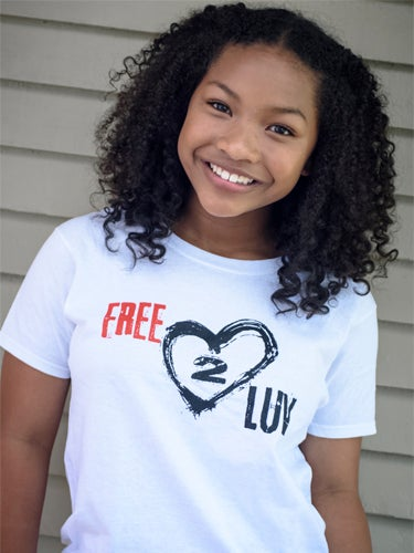Image of FREE2LUV Tee