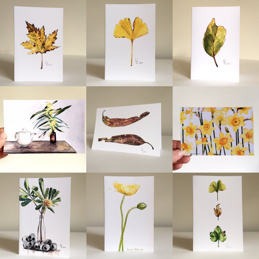 Image of 5 Greeting Cards - Your Choice