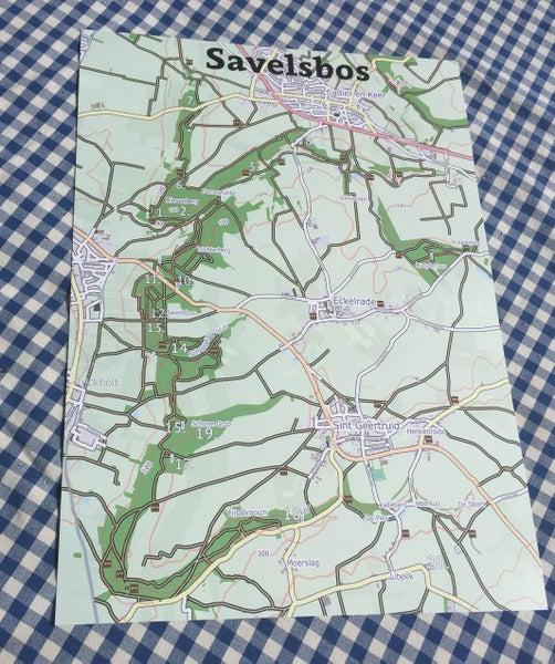 Image of Kaart Savelsbos