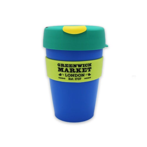 Image of Greenwich Market Reusable Cup on the go