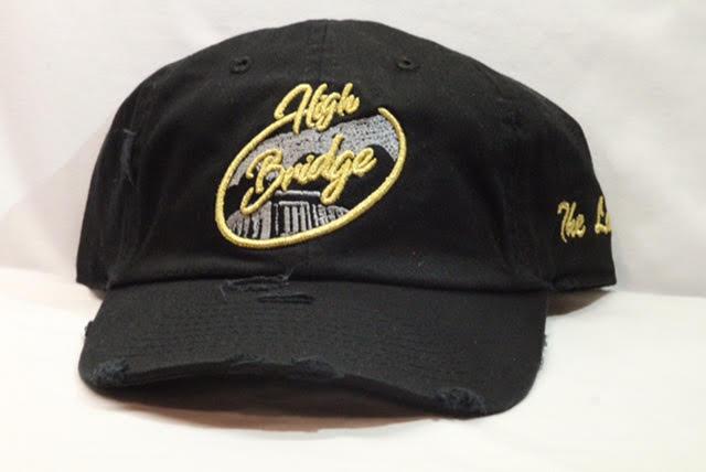 Image of Black & Gold Bridge Cap