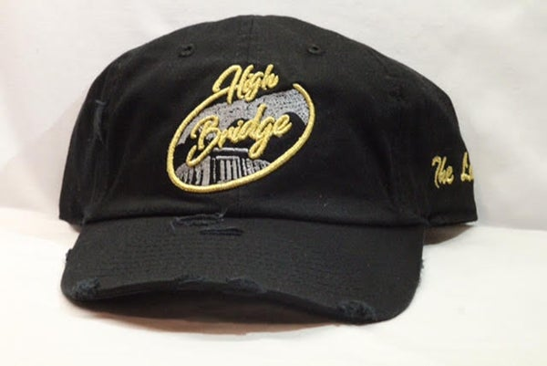 Image of Black & Gold Bridge Cap