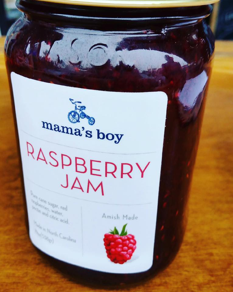 Image of Mama's Boy Raspberry Jam!