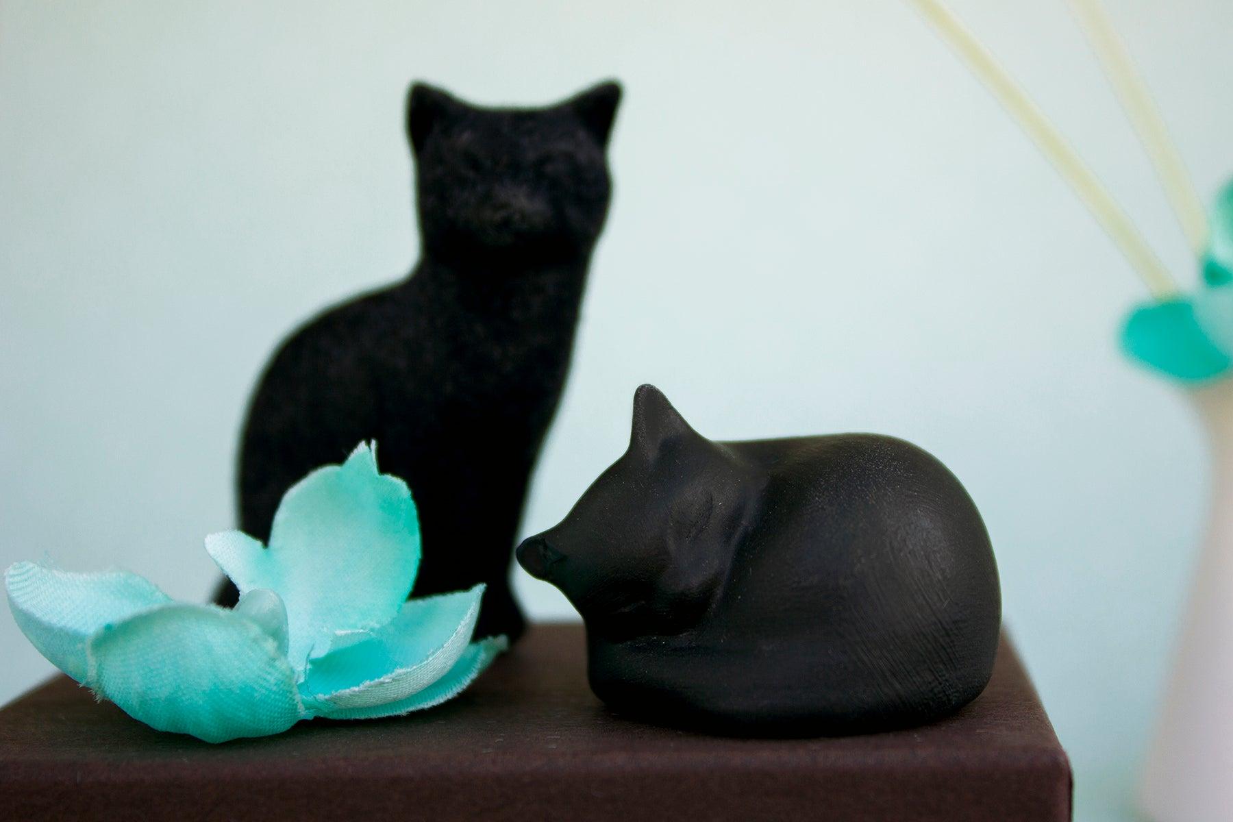 Long Love Memorials — Black Cat Figurine