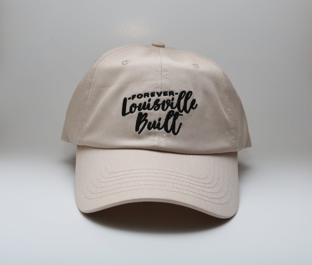Image of Forever Louisville Built - Dad Hat - Khaki