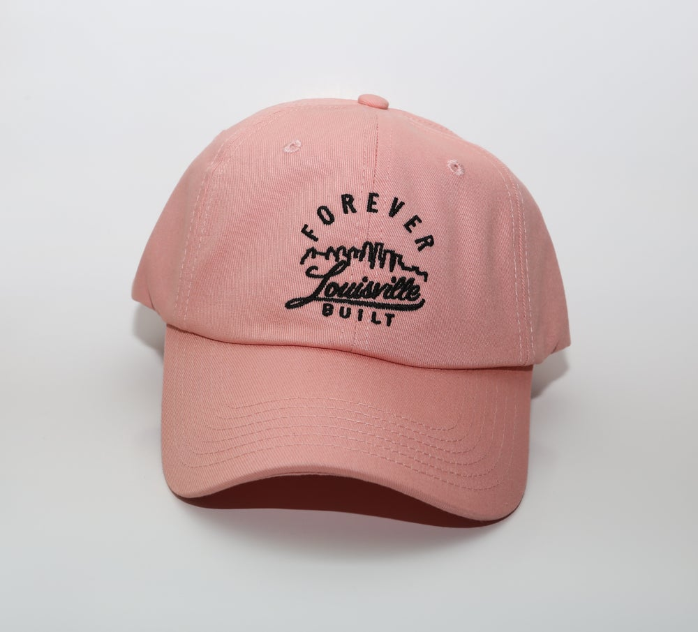 Image of Forever Louisville Built - Dad Hat - Pink