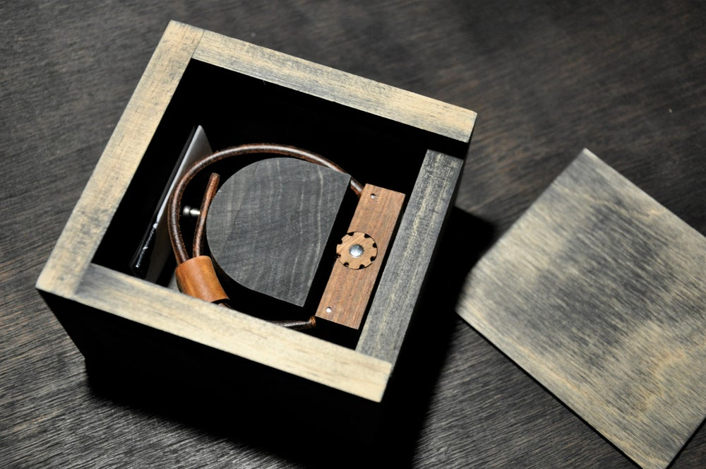 Image of Limited Error Wooden Timepiece 003