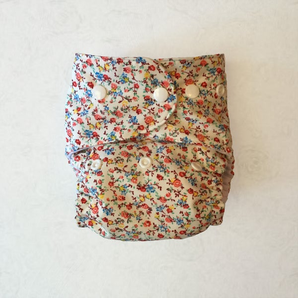 Image of Little Flowers Nappy