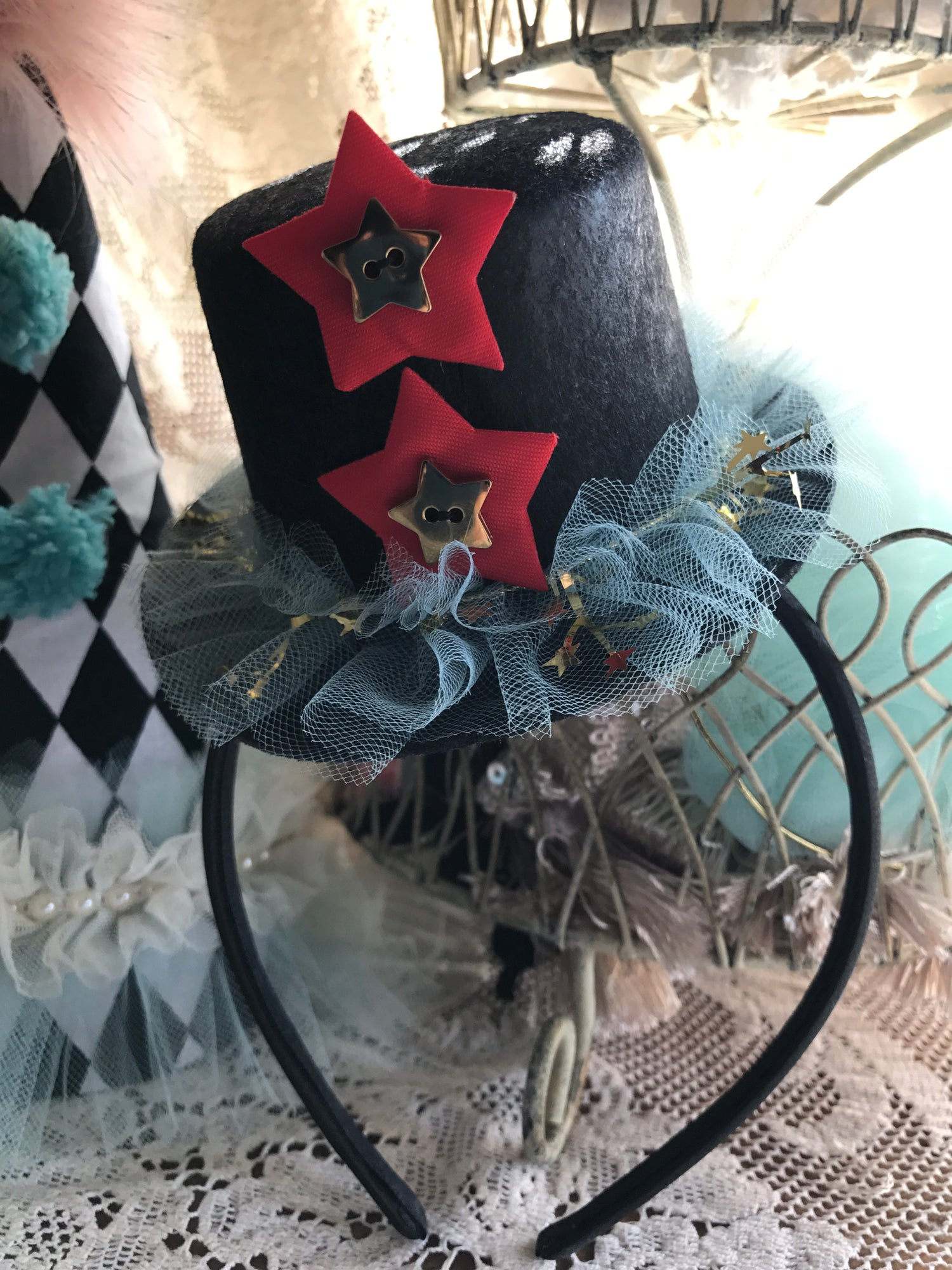 Image of Vintage Circus hats RESERVED