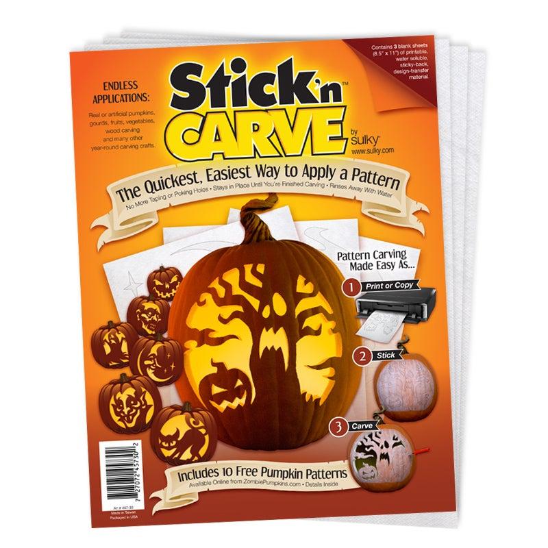 Image of Stick 'n Carve Transfer Sheets