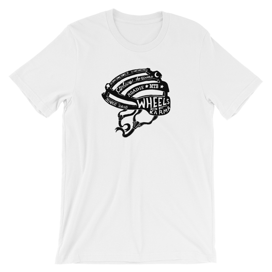 Image of Helmet Logo - Tee shirt - White