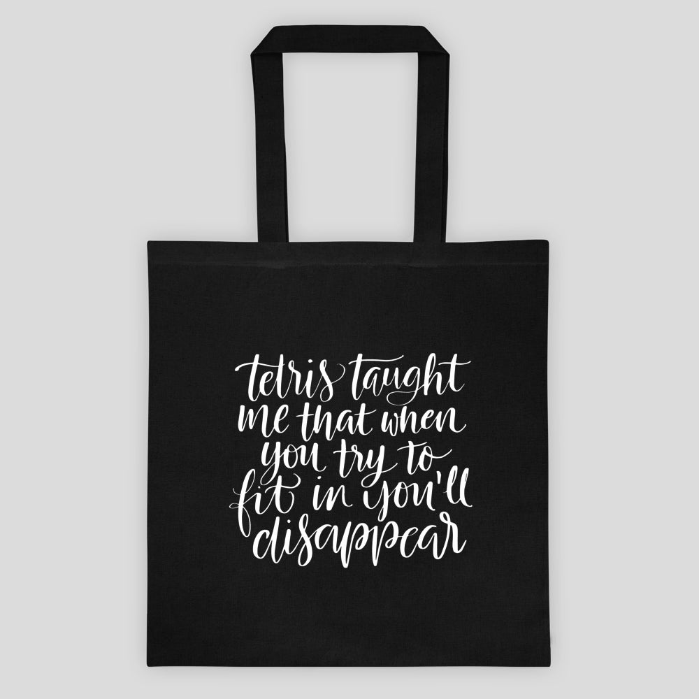 Image of Tetris Lessons Canvas Tote