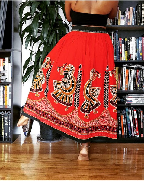 Image of Vintage Tribal Dance Skirt