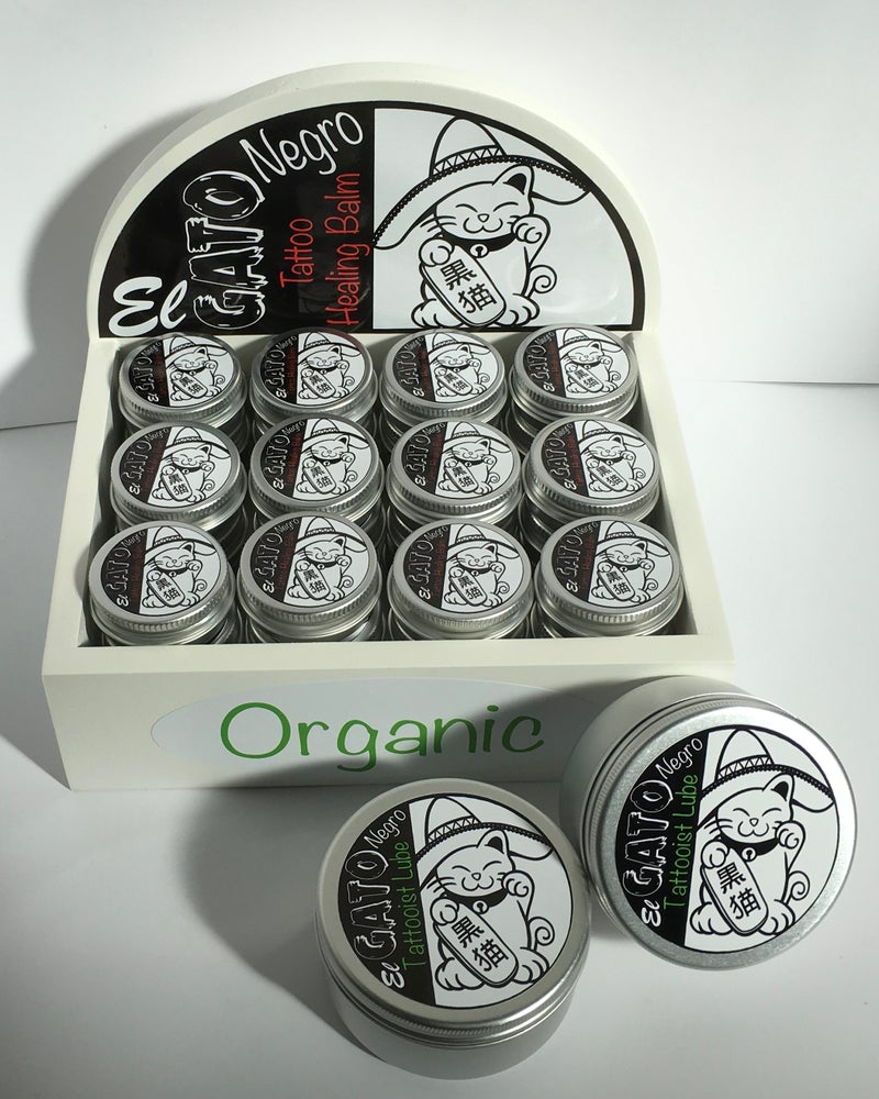 "Image of ""El Gato Negro"" Tattoo Artists Pack with Display Box"