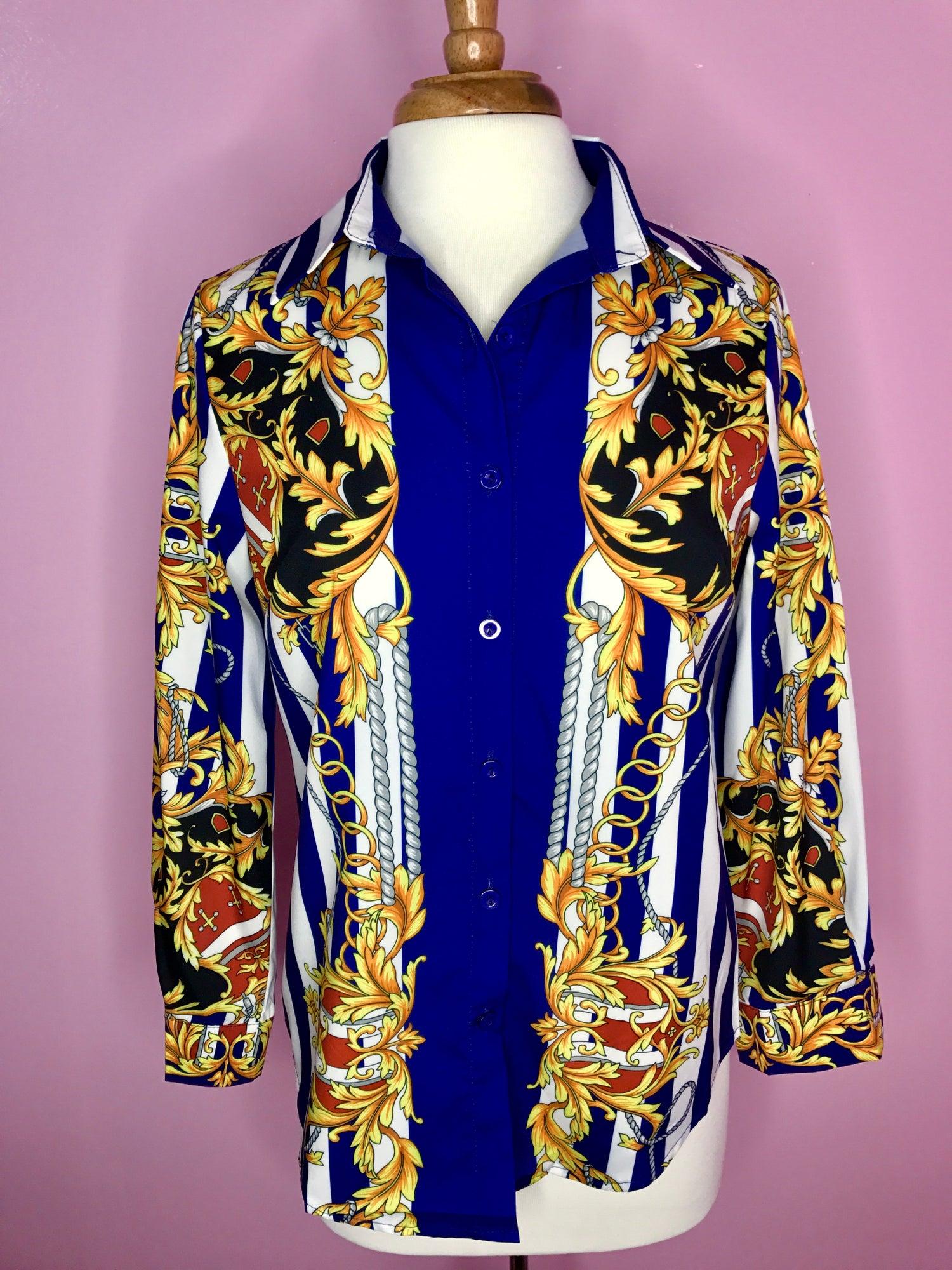 Image of Royale Printed Shirt