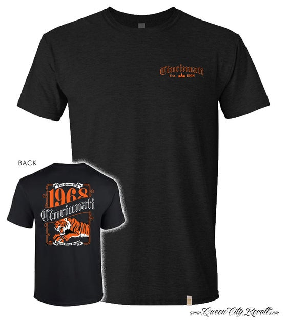 Image of Cincinnati Bengals Label Tee, Black