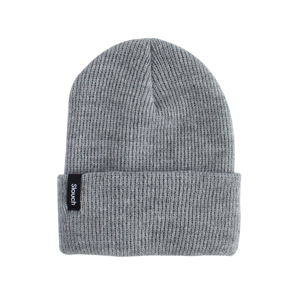 Image of Gray Knit Cuff Beanie