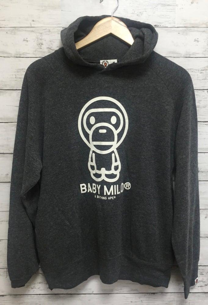 Image of Baby Milo Store Grey Hoody