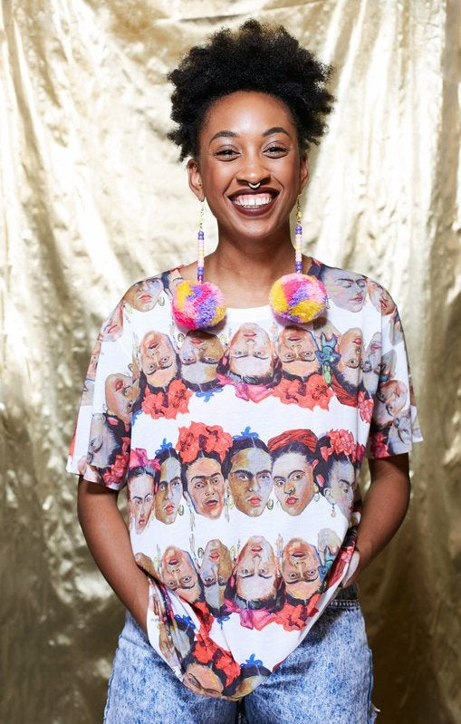 Image of Frida print t-shirt