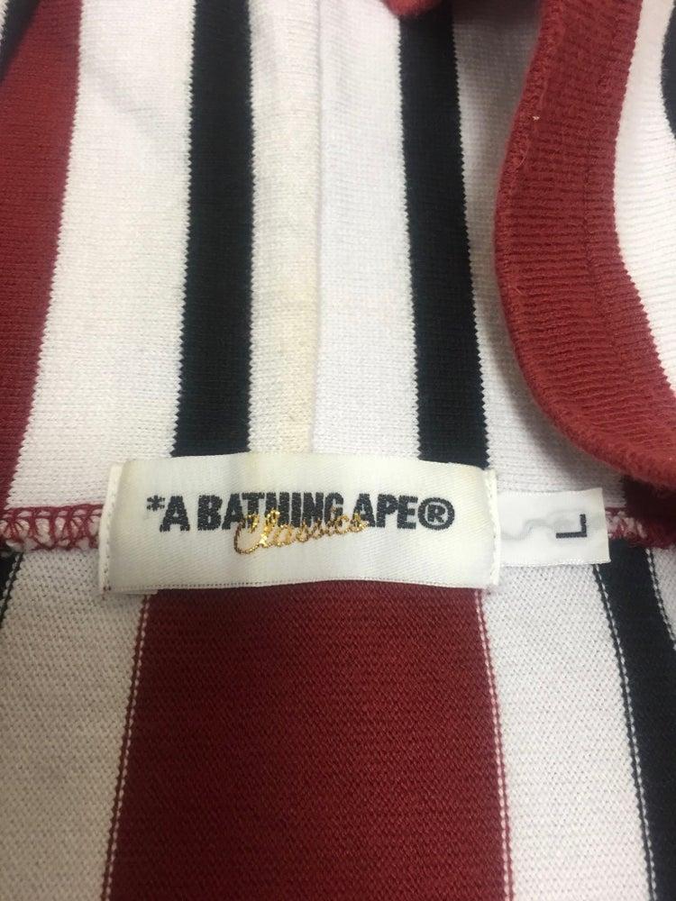 Image of Bape Classics Pin Stripe Hoodie
